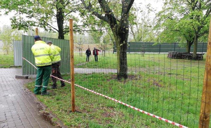 Park przy Kawęczyńskiej zamknięty na czas modernizacji