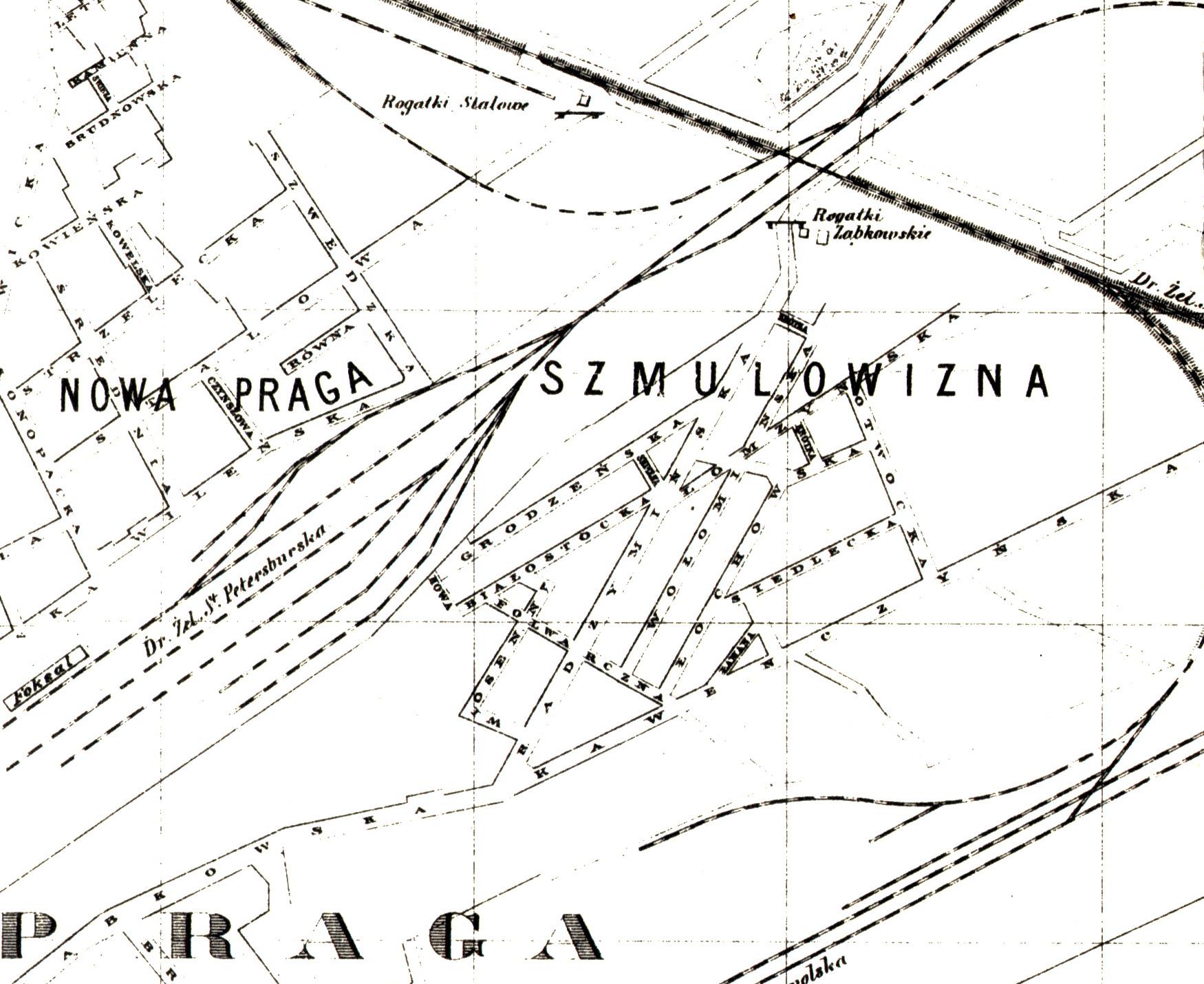 Opis Szmulowizny z 1893 roku