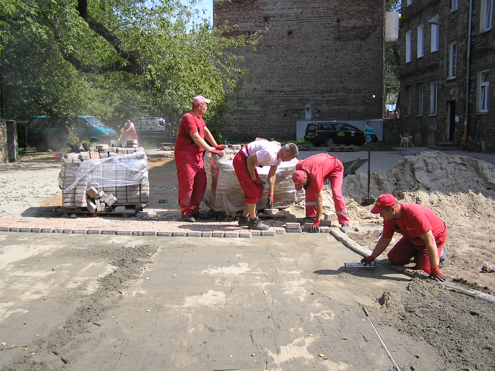 Łomżyńska 27 otrzyma nowe podwórko
