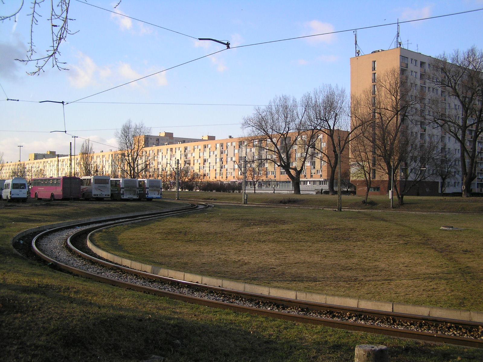 Trasa Świętokrzyska - przez działki za Dworcem Wschodnim