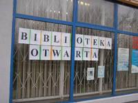 Biblioteka wciąż otwarta. Przenosiny po Nowym Roku
